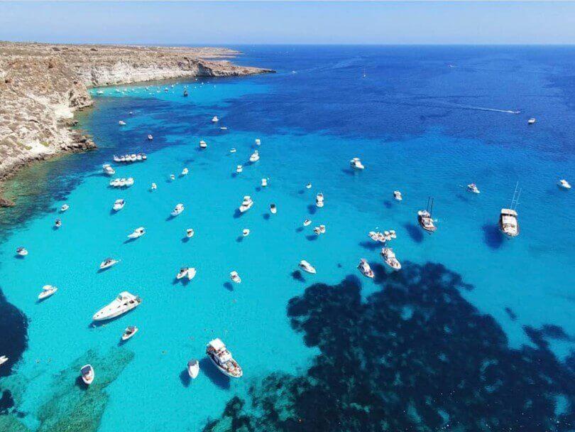 Le spiagge di Lampedusa